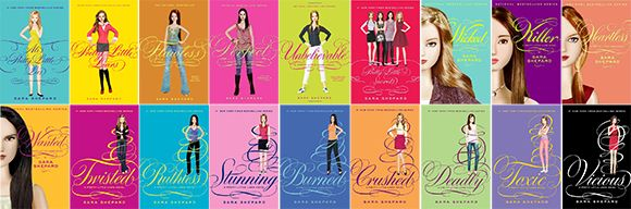 Image result for pretty little liars books