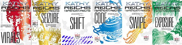 Virals series by Kathy Reichs