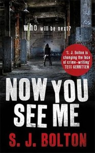 Now You See Me by S. J. Bolton